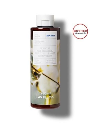 Korres Korres Pure Cotton Duş Jeli Vücut Temizleyici 250 ml Renksiz